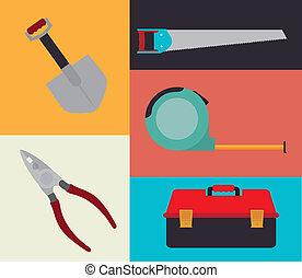 בניה, כלים