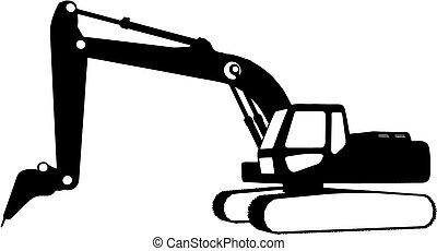 בניה, (vector), כלי רכב