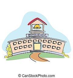 בנין, בית ספר