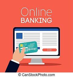 בנקאות, דסקטופ, אונליין, טכנולוגיה