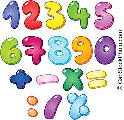 בעבע, מספרים, 3d