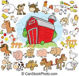 בעלי חיים של חוה, סידרה מעצבת, וקטור