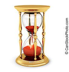בציר, זהוב, שעון חול