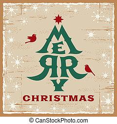 בציר, כרטיס של חג ההמולד