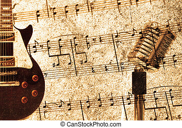 בציר, מושג, מוסיקה