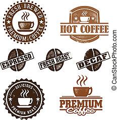 בציר, סיגנון, קפה, בולים