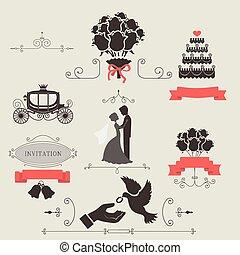 בציר, קבע, יסודות, חתונה