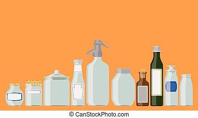 בקבוקים, קבע