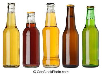 בקבוקים של בירה, טופס