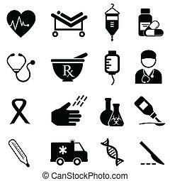 בריאות רפואית, איקונים