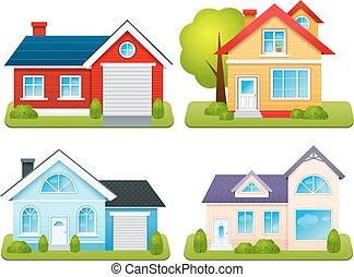 בתים, קבע, פרטי