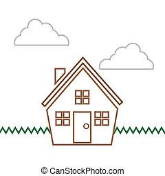 בתים, קטע, תאר