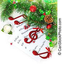 גבול, חג המולד, מוסיקלי