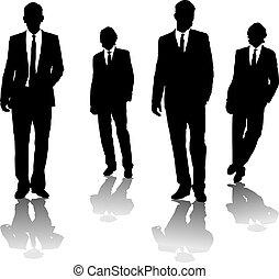 גברים, עסק