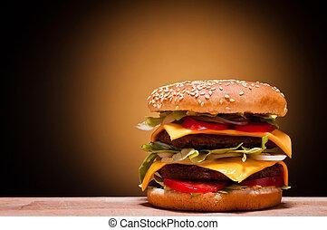 גדול, המבורגר