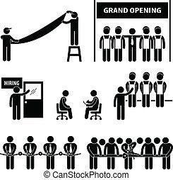 גדול, עסק, לפתוח