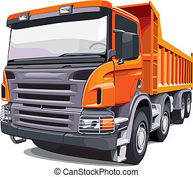 גדול, תפוז, משאית