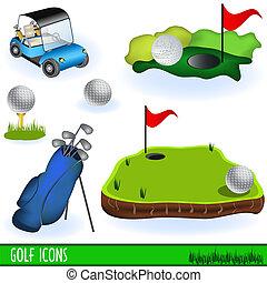 גולף, איקונים