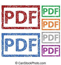 גומי, pdf, קבע, גראנג, ביל
