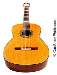 גוף, מעץ, גיטרה אקוסטית, ספרדי