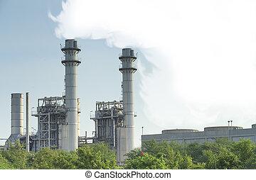 גז טבעי, מפעל