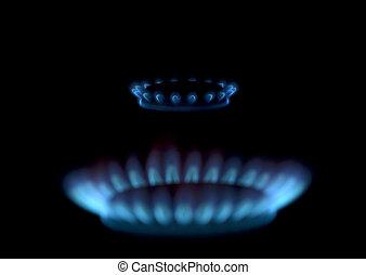 גז, להבות