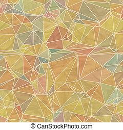 גיאומטרי, pattern., seamless, ראטרו