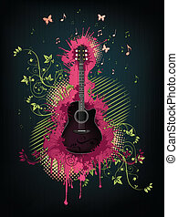 גיטרה אקוסטית