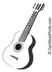 גיטרה, אקוסטי