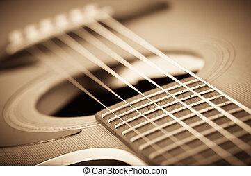 גיטרה, אקוסטי, גראנג