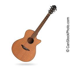 גיטרה, אקוסטי, הפרד, קלאסי