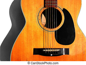 גיטרה, אקוסטי, ישן