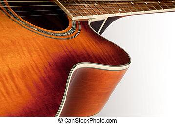 גיטרה, אקוסטי, פרט