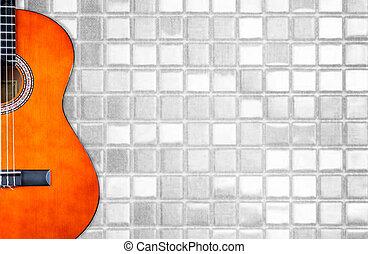 גיטרה, אקוסטי, תקציר, בצע