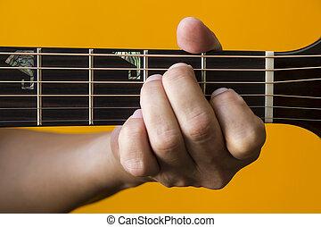 גיטרה, אקורד, *e*