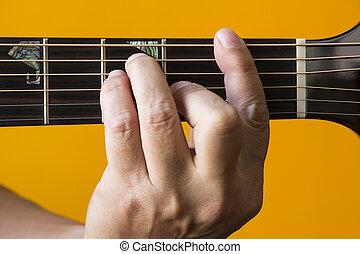 גיטרה, אקורד, *f*