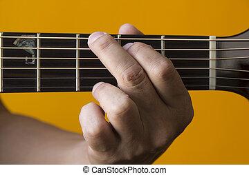 גיטרה, אקורד, *g*