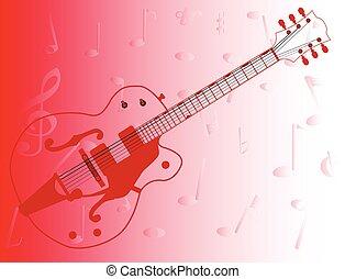 גיטרה, ארץ, תאר, pickers