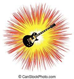 גיטרה, בלוז, הבהב