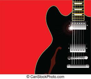 גיטרה, בלוז, ישן