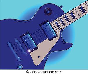 גיטרה, בלוז