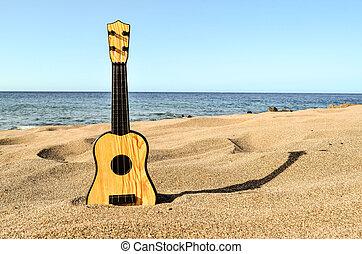 גיטרה, החף חול