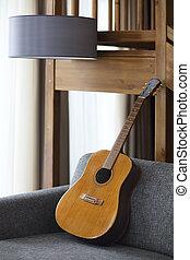 גיטרה, לחיות, נוח, חדר
