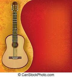 גיטרה, מוסיקה, תקציר, גראנג, רקע
