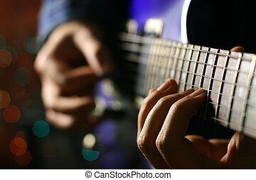 גיטרה, סולו