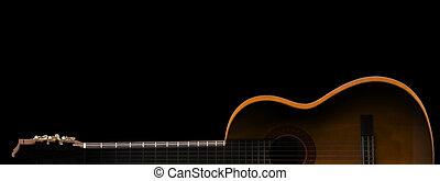 גיטרה, צללית