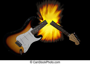 גיטרה, שבור