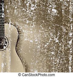גיטרה, תקציר, רקע, פצח, קלאסי