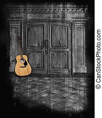 גיטרה, aucoustic