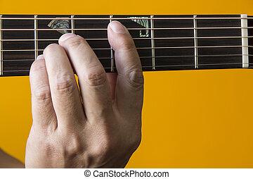גיטרה, *c*, אקורד